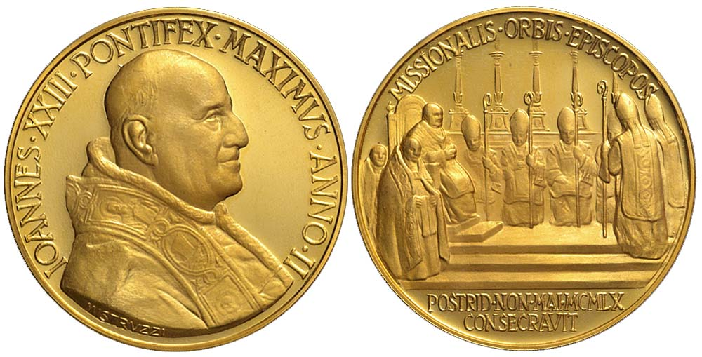 Medals-Rome-Johannes-XXIII-Medal-1959-Gold